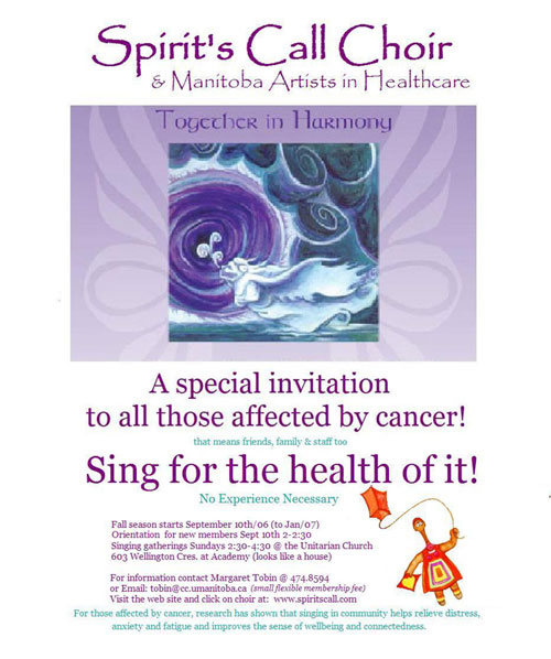 Spirit's Call Choir & Manitoba Artists in Healthcare - Together in Harmony